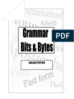 Grammar Bits and Bytes Adjectives