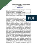 Informe Uruguay 07-2012