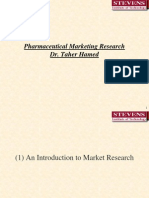 Marketing Lecture 3 Updated Pharmaceutical Market Research