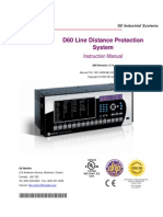 GE D60 Relay Manual