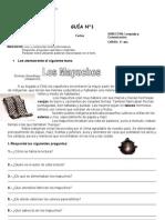 Guía de Aprendizaje N°1 LOS MAPUCHES
