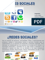 Redes sociales grupo 3