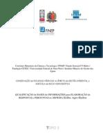 Conservação de Recursos Hídricos na Gestão Ambiental e Agrícola de Bacia Hidrográfica - CRHA - Relatório Final - Tomo 3 - SisDEC