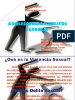 Adolescencia y Delito Sexual
