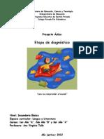 Proyecto - Diagnóstico Lengua