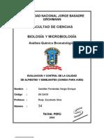 Analisis Bromatologico de Alpistes y Semejantes Formato 2003
