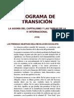 programa transicion