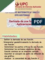 derivada y aplicaciones