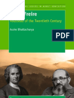 Paulo Freire Rousseau of the Twentieth Century
