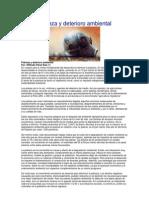 Perú Deterioro ambiental