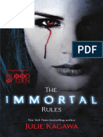 The Immortal Rules (Book 1 - Blood of Eden series)  by Julie Kagawa