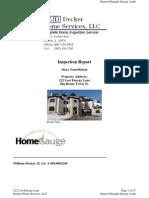 Sample Energy Audit
