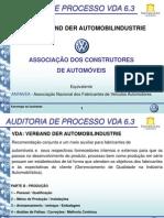 Apresentação VDA 6.3 da VW