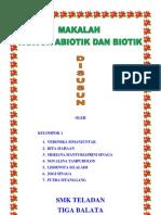 Biotik Dan Abiotik