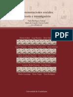 Representaciones sociales; teoría e investigación
