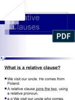 Relative Pronouns PRESENT