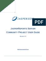 Jasper Reports Server CP User Guide