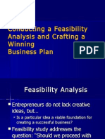 Feasibility Analysis and Business Plan Intro