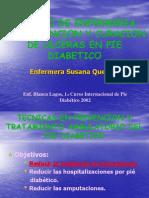 Curaciones Pie Diabetico