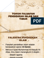 Tokoh Falsafah Pendidkan Islam Dan Timur