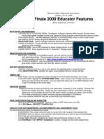 FINALE 09 Educator Features MO MEA