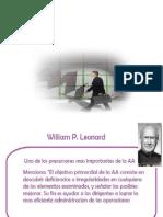 Enfoque William p Leonard
