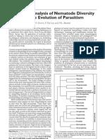 Nematode Diversity Parasitism