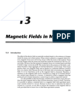 Chapter 13 - Magnetic Fields in Materials