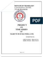 26762598 Trend Analysis in Maruti Suzki