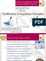 Tariff & Regul Principles