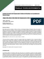 Estudio del efecto del Compensador Estático de Reactivos en el problema de Flujo de Carga