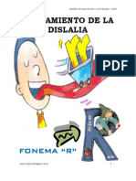 Tratamiento de La Dislalia. Fonema r