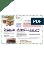 Iklan Madu an Nabawi