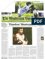 The Washtenaw Voice - April 23, 2012