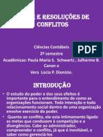 PODER E RESOLUÇÕES DE CONFLITOS-TRABALHO