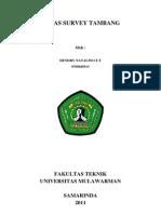 Tugas Survey Tambang
