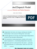 decoupled dispatch model and market