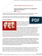 10 Tenets of the Communist Manifesto Manifested in American Life