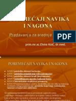 Poremecaji Navika i Nagona1