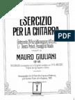 Giuliani - Op 48 [24 exercícios]