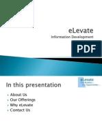 eLevate Presentation