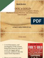 Fool's Gold-Gillian Tett