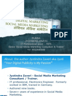 Social Media Marketing - 20 Digital Platforms - Concepts and Case studies