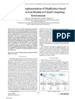Design and Implementation of MapReduce-based Image Conversion Module in Cloud Computing Environment
