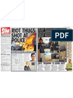 Daily Star Riot Thugs 140811