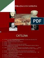 CONSPIRATIA LUI CATILINA