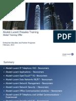 Presales Training Offer