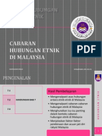 Cabaran Hubungan Etnik Di Malaysia