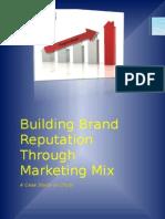 Building Brand Reputation Through Marketing mix - A case study on Otobi