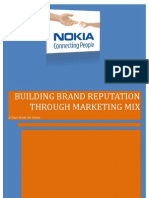 Building Brand Reputation Through Marketing Mix - A case study on Nokia